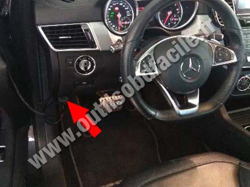 Mercedes GLE Class - Steering wheel