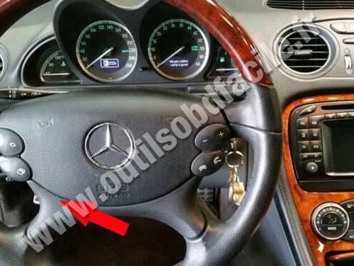 Mercedes SL - Dashboard