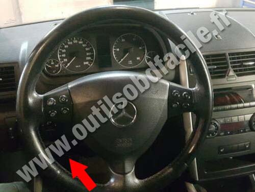 Mercedes A Class W169 - Dashboard