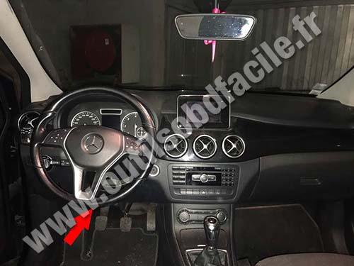 Mercedes classe B W246 - Dashboard