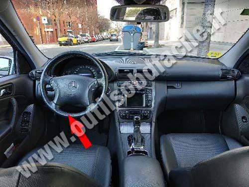 Mercedes C Class W203 - Dashboard