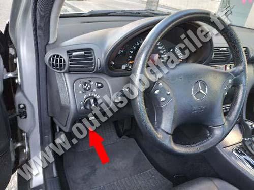 Mercedes C Class W203 - Pedals