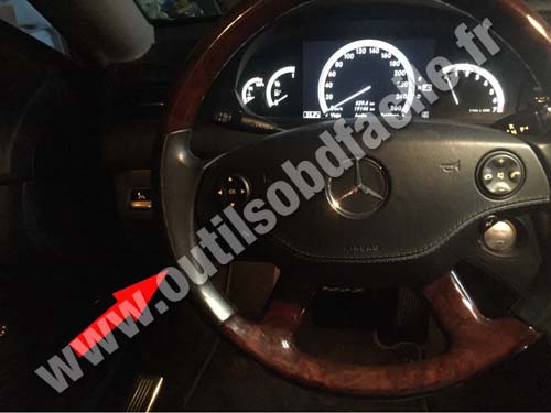 Mercedes CL Dashboard