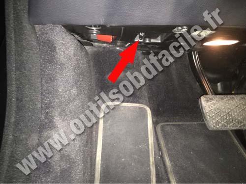 Mercedes CL Pedals
