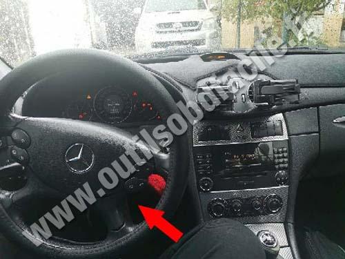 Mercedes CLK Class - Dashboard