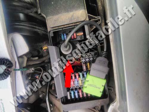 Mercedes E Class 210 - Fuse box