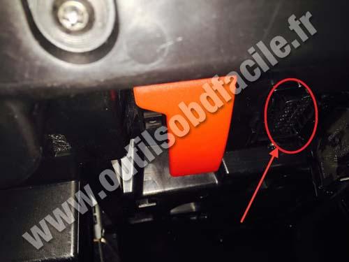 Mercedes Classe E OBD plug