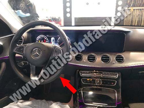 Mercedes E Class W213 - Dashboard