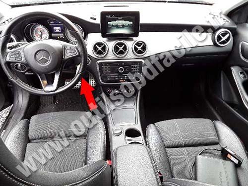 Mercedes GLA Class - Dashboard