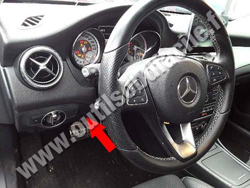 Mercedes GLA Class - Pedals