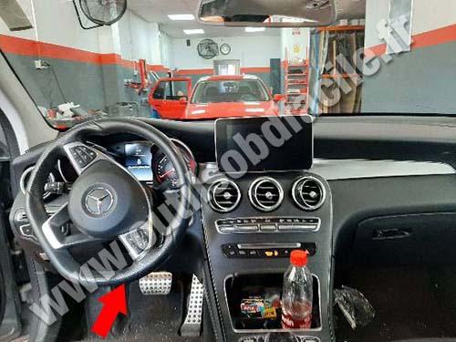 Mercedes GLC Class - Dashboard