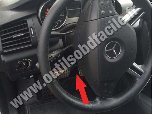 Mercedes R Class (W251) - Dashboard