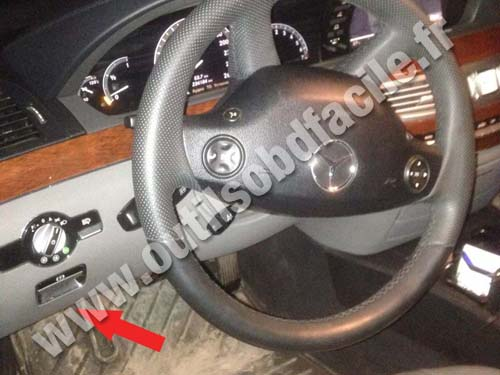 Mercedes Classe S (W221) - Dashboard