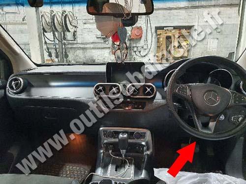Mercedes X Class - Dashboard