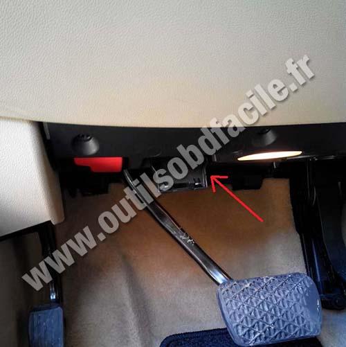Mercedes ML W164 brake pedal