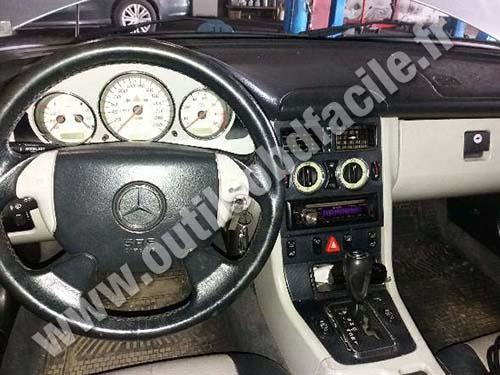 Mercedes Classe SLK - Dashboard