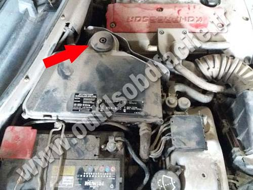 Mercedes Classe SLK - Engine bay
