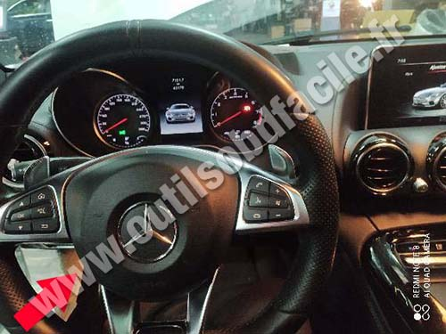 Mercedes SLR - Dashboard