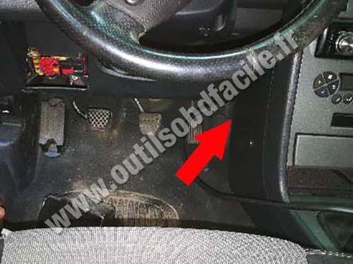 MG ZS - Pedals