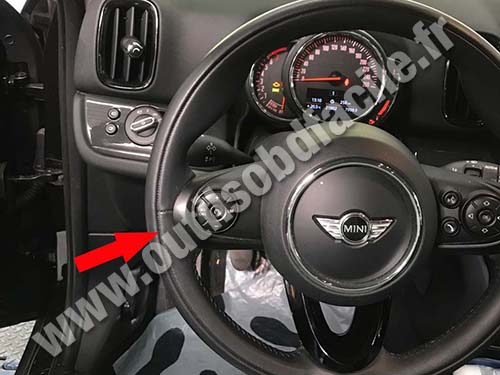 Mini Countryman - Dashboard
