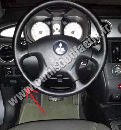 Mitsubishi Airtrek Steering Wheel Dashboard on 2009 Mitsubishi Galant
