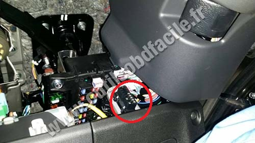 Mitsubishi ASX obd2 diagnostic port