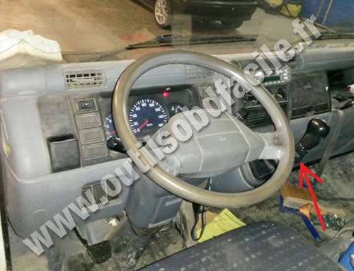 Mitsubishi Canter dashboard
