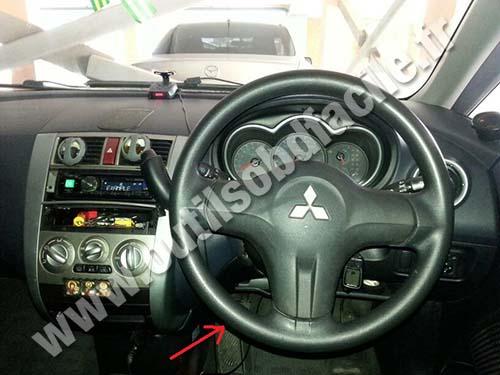 Mitsubishi Colt dahsboard