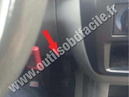 Mitsubishi Galant - Steering wheel