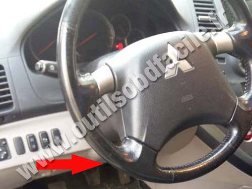 Mitsubishi Grandis Steering wheel