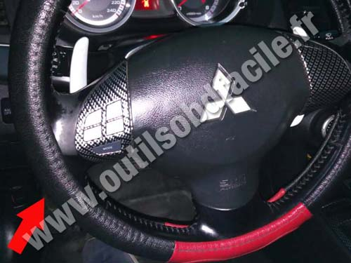 Mitsubishi Outlander Lancer Steering wheel
