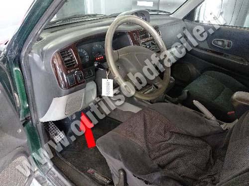 Mitsubishi Montero - Dashboard