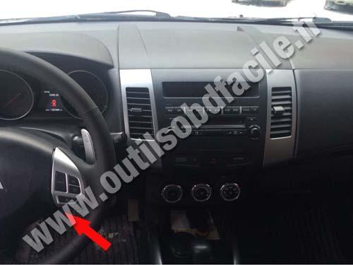 Mitsubishi Outlander Dashboard on 1998 Mitsubishi Galant