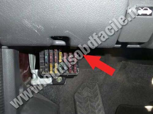 Mitsubishi Space Wagon - Fuses compartment