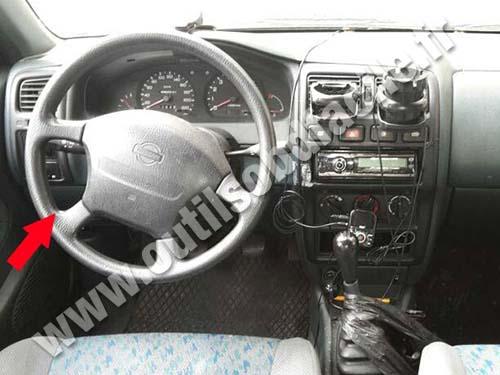 Nissan Almera - Dashboard
