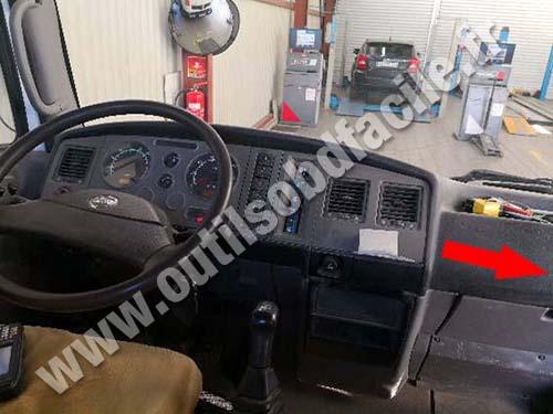 Nissan Atleon - Dashboard