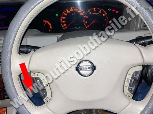 Nissan Cedric - Dashboard