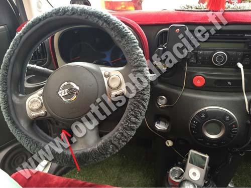Nissan Cuve Z12 dashboard