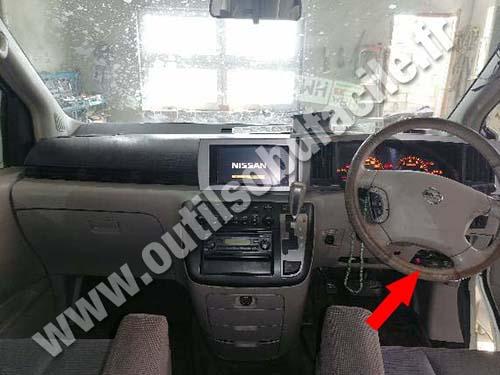 Nissan Elgran - Dashboard