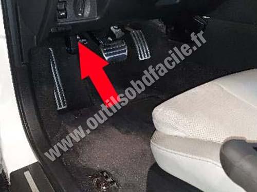 Nissan GT-R - Pedals