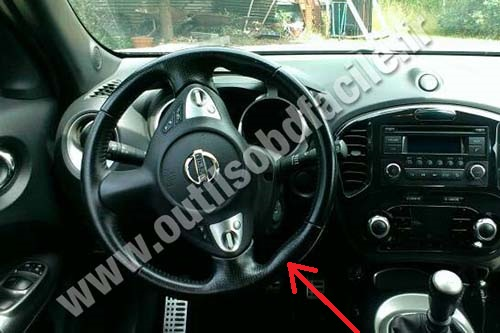 Obd2 Connector Location In Nissan Juke 2010