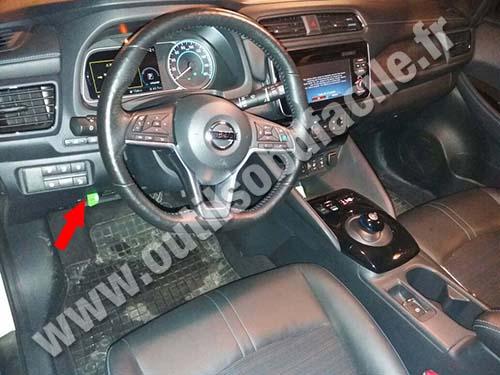 Nissan Leaf - Dashboard