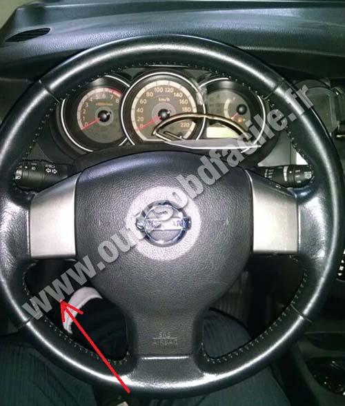 Nissan Livina dashboard