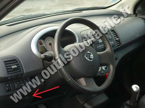 Nissan March / Micra dashboard