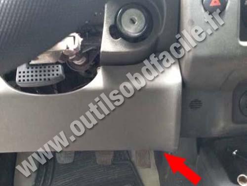Nissan Navara - Pedals
