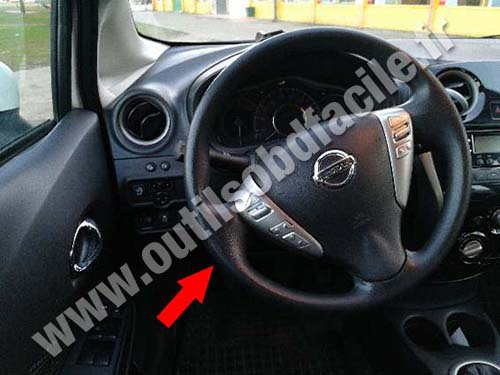 Nissan Note - Steering wheel
