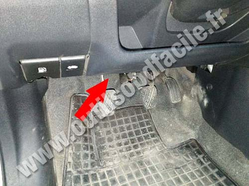Nissan Note - Pedals