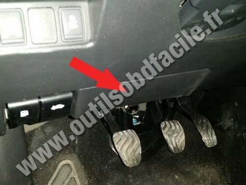Nissan Qashqai - Pedals
