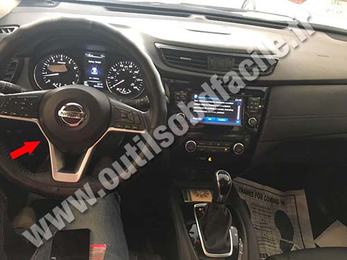 Obd2 Connector Location In Nissan Rogue 2014