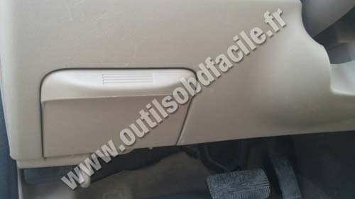 Nissan Sentra - Door side